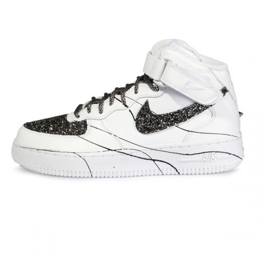 Air Force Mid Glitter Ink