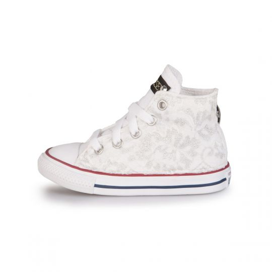 all star LACY SILVER WHITE kid