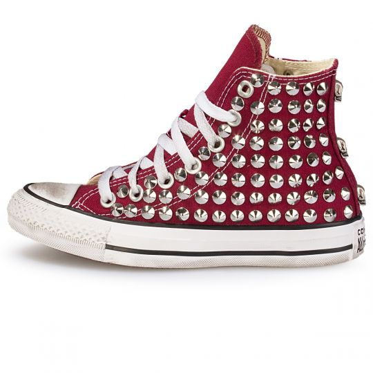 all star maroon cone skull