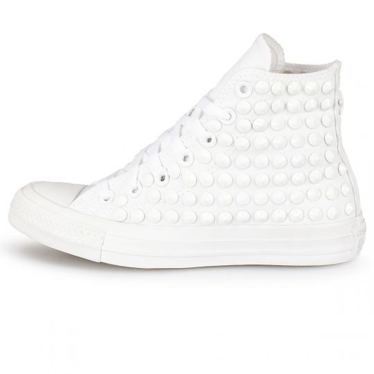all star Monochrome Total White x