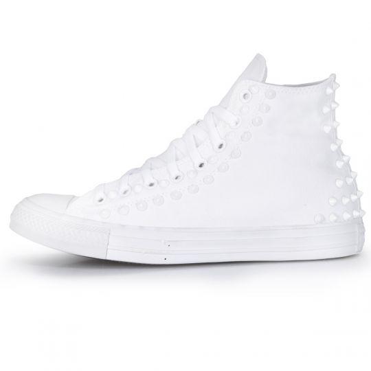 all star hi MONOCHROME white