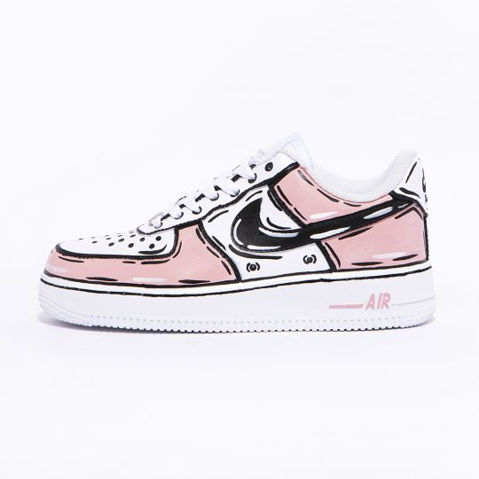 NIKE AIR FORCE ONE COSPLAY pink