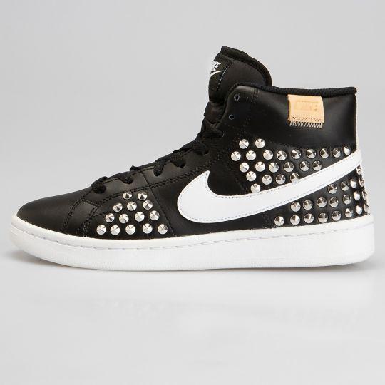 Nike Court hi Total Black Studs