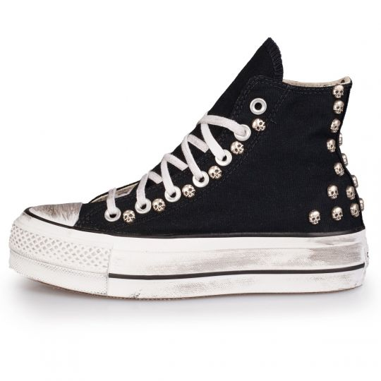 PLATFORM DIRTY SKULL black HI