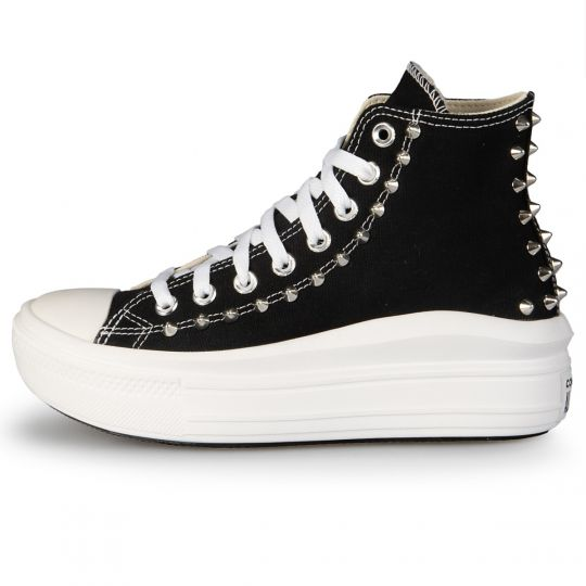 Platform Hi Move Black Back Studs