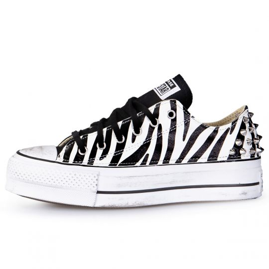 platform low white zebra