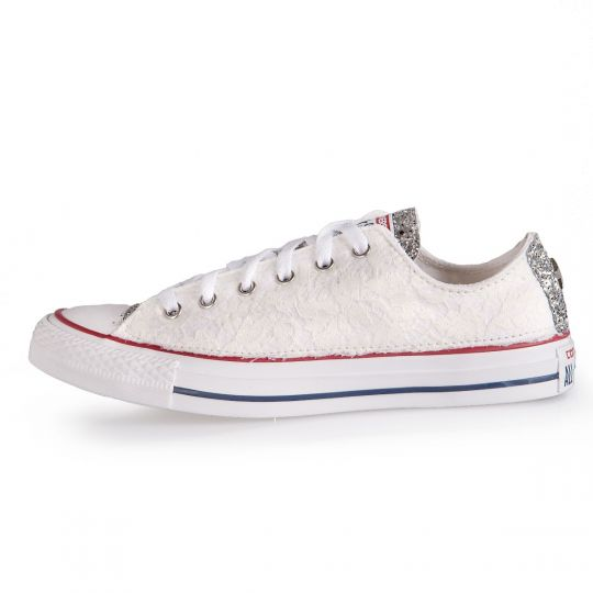 RUNAWAYS LACY WHITE LOW