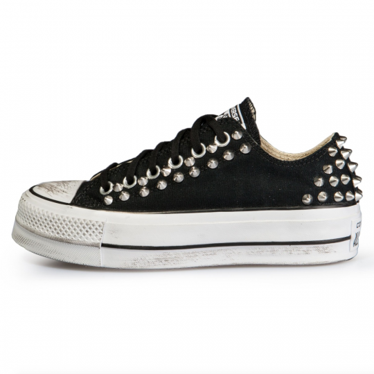 platform low black BACK STUDS