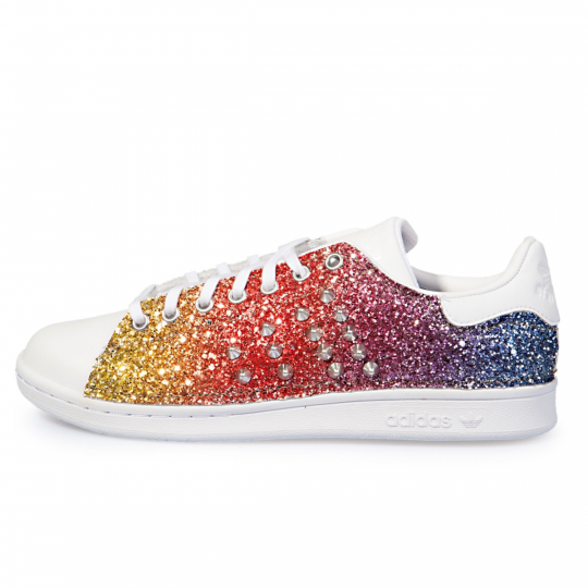 adidas STAN SMITH RAINBOW GLITTER