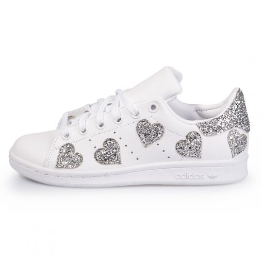 adidas Stan Smith Heart Of Silver