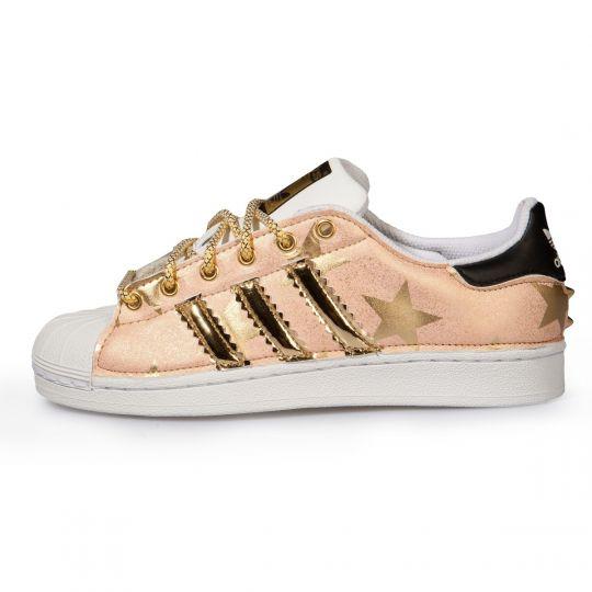 Adidas Superstar Pink Stars