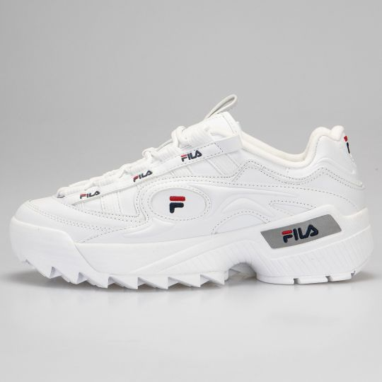 Fila White D-Formation