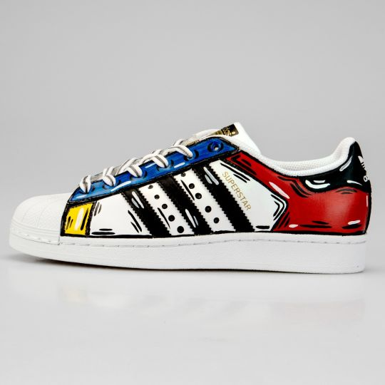 Adidas Superstar Cosplay Daitarn