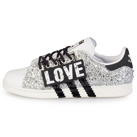 adidas stan smith glitter love