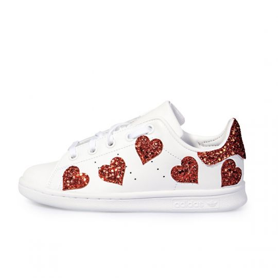 STAN SMITH HEART OF GLASS KID ( 17-34 )