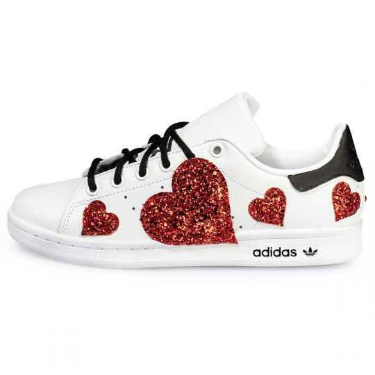 adidas STAN SMITH HEART PAINTED