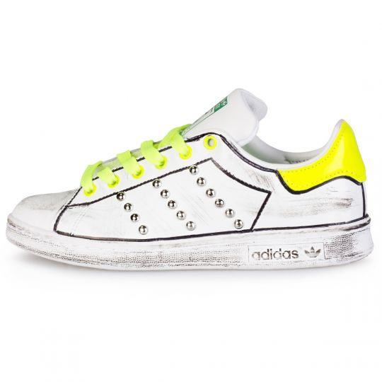 adidas stan smith yellow neon profile xx