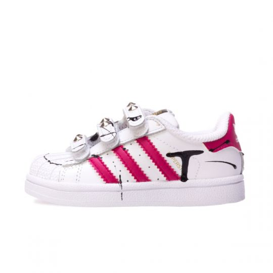 SUPERSTAR ROSE STRAP KID ( 20-34 )