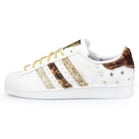 adidas SUPERSTAR TRIPLE LEO GLITTER