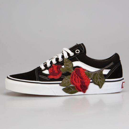 Vans Old Skool Roses xxx