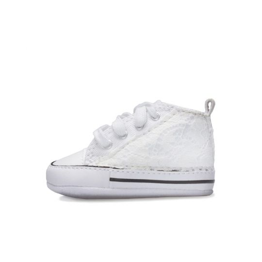all star hi WHITE LACY CULLA