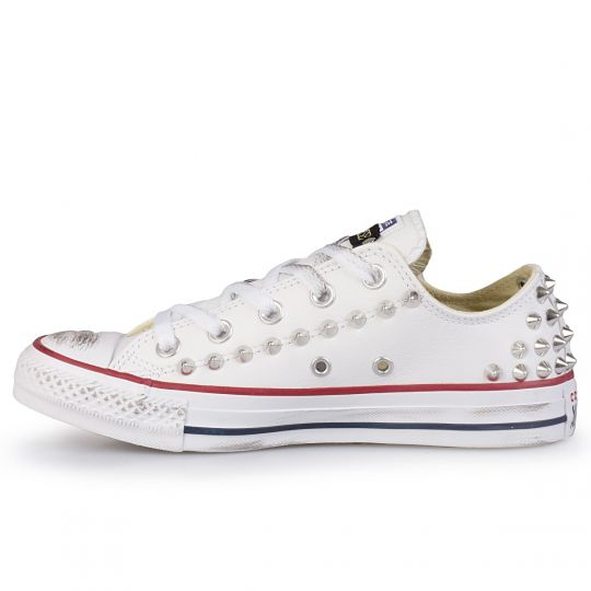 all star back white low pelle