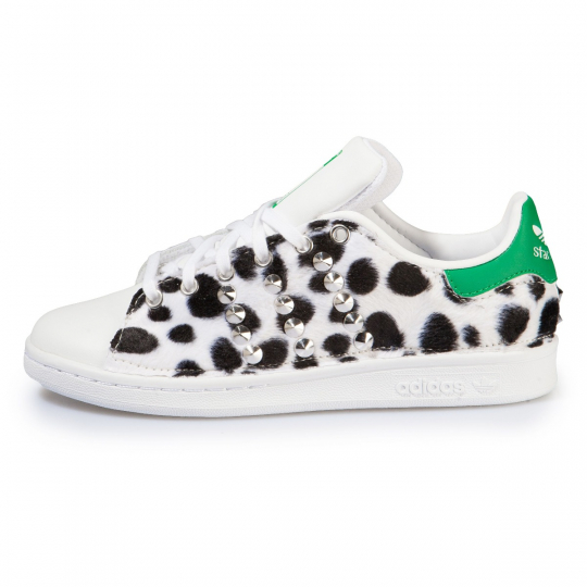 STAN SMITH LEO SAVAGE WHITE