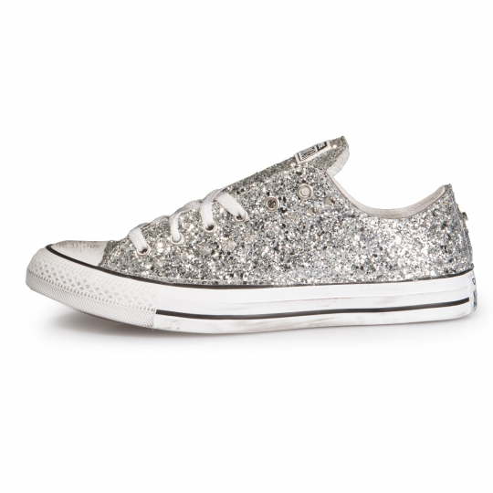 TOTAL SILVER GLITTER LOW