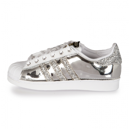 SUPERSTAR DMC RUNAWAYS VINYL SILVER