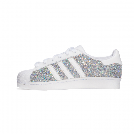 SUPERSTAR WHITE DMC SILVER