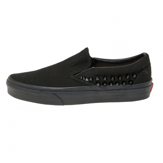 vans SLIP ON TOTAL BLACK