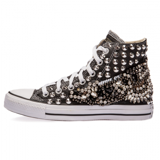 all star BLACK WOLLSTONECRAFT PELLE