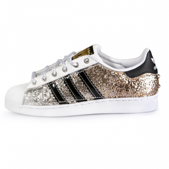 SUPERSTAR GOLD GLITTER DEGRADE'