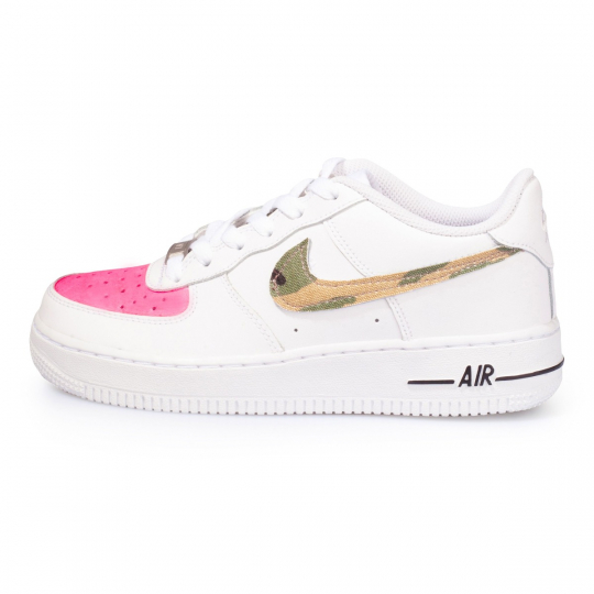 air force low camo fluo fuxia