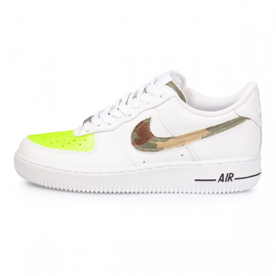 air force low camo fluo yellow