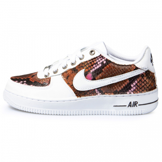 AIR FORCE LOW white MULTI PYTHO