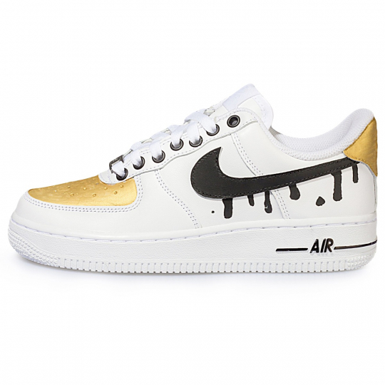 AIR FORCE ONE GOLD PAINTED