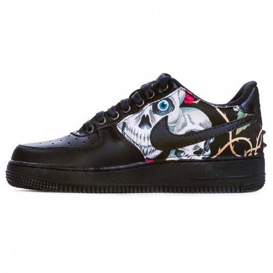 AIR FORCE SKULL BK LOW