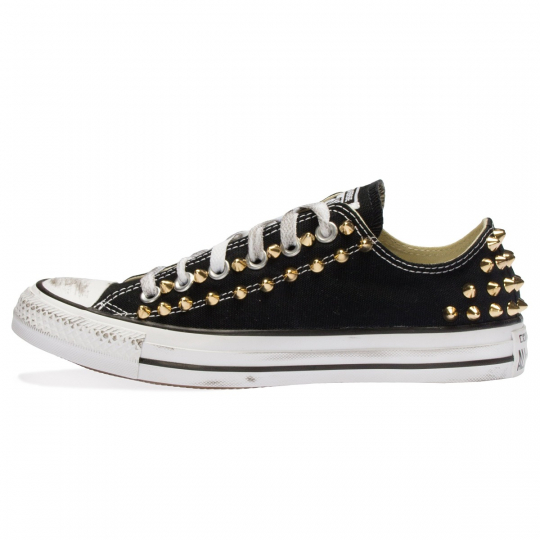 all star BLACK / GOLD LOW POINT