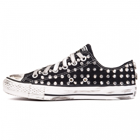 all star BLACK LOW CUT