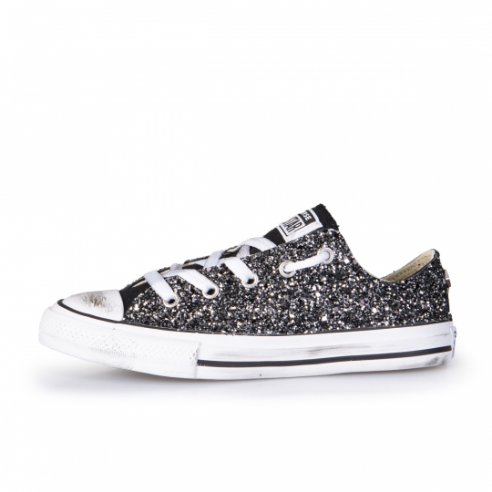 ALL STAR LOW BLACK RUNAWAYS 27-34