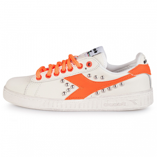 DIADORA GAME FLUO orange STUDS