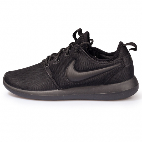 ROSHE RUN 2 TOTAL BLACK