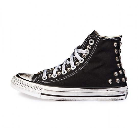 Dirty Skull Black Hi