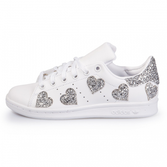 Stan Smith Heart Of Silver