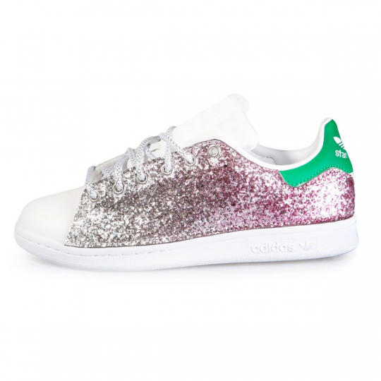 STAN SMITH RUNAWAYS DEGRADÈ  ROSE
