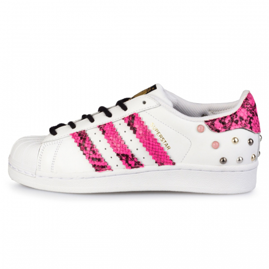 superstar neon pytho fuxia