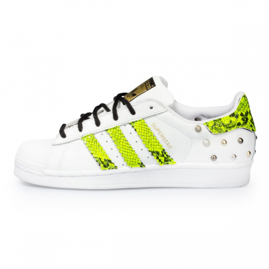 superstar neon pytho yellow