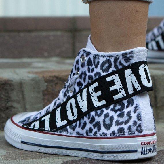 Custom Converse | Il Maltese Lab - scarpe personalizzate