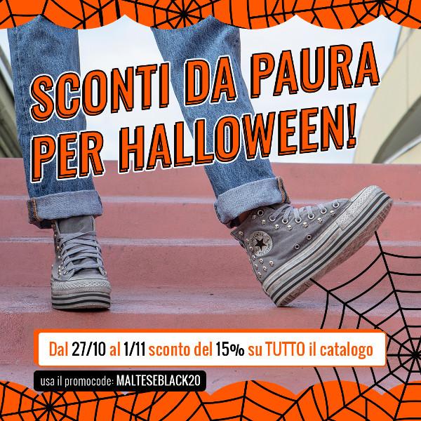 Halloween sconto